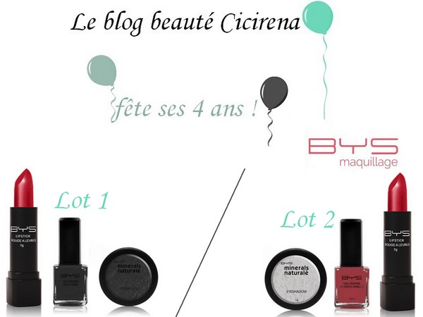Concours BYS Maquillage