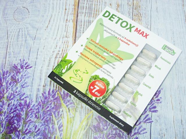 Oczyszczanie organizmu, czyli suplement diety Detox Max od Noble Health