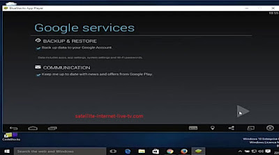need to set log in information for 1 time for google account