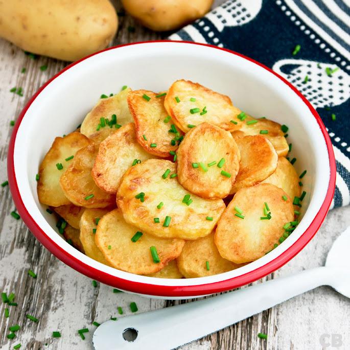 Recept Versgebakken aardappeltjes