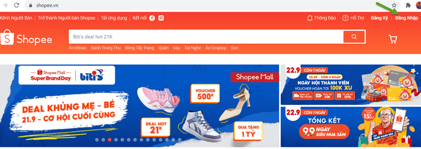 Hướng dẫn cách đặt hàng cách mua hàng trên Shopee