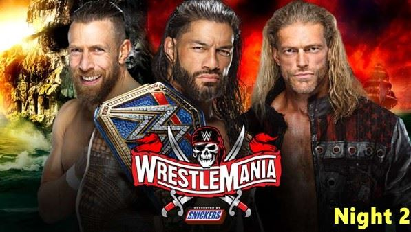 Watch WrestleMania 37 PPV Night 2 – 4/11/2021 Online