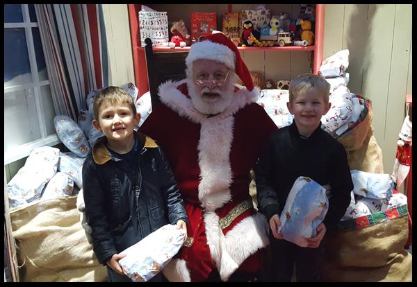 Santa at Drusillas