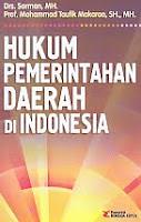 Judul Buku:Hukum Pemerintahan Daerah di Indonesia