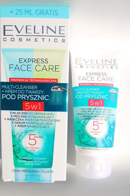 Eveline Express Face Care - Krem do twarzy pod prysznic do cery tłustej i mieszanej - recenzja