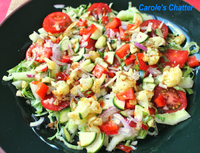 Curried Cauliflower in a Salad by Carole's Chatter