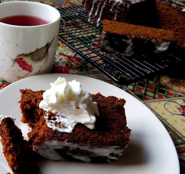 Deep, Dark & Delicious Gingerbread