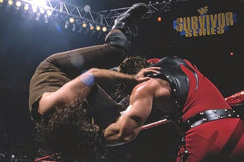 WWF / WWE - Survivor Series 1997 - Kane's first PPV match against Mankind