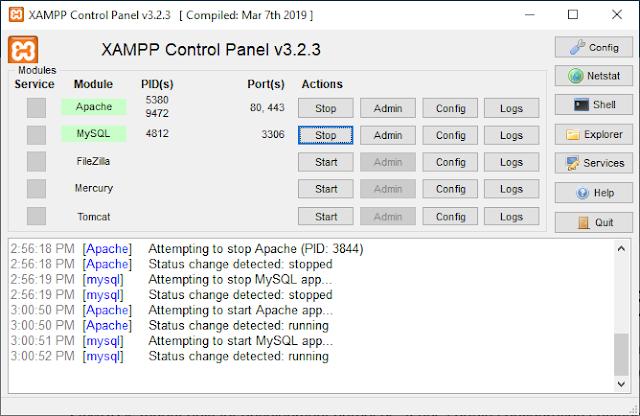 arduino mysql database