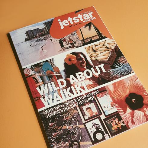 Jetstar Magazine Waikiki Luke Fandrich