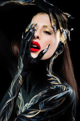 "Bodypainting ""NightFalls"" by Renew Style"