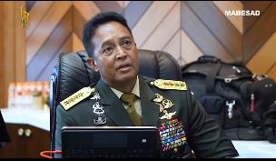 Profil Biodata KSAD Jenderal Andika Perkasa Lengkap Mualaf Agama, IG Instagram, Nama Istri Anak Adik dan Umur