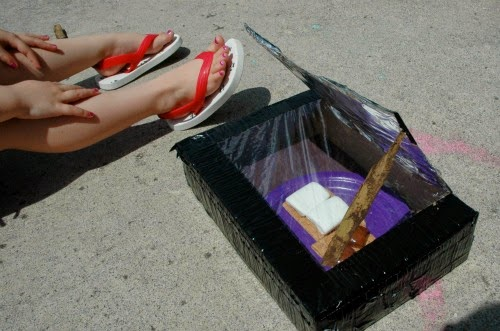Solar Oven S'Mores for Summer Preschool