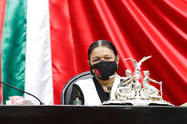 María Elena Chapa nos enseñó que el derecho de las mujeres a la participación política no se negocia: Diputada Sauri Riancho