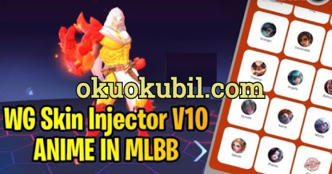 Mobile Legends WG Skin Injector V10 Added Premium + Anime Skin in MLBB Kostüm Hilesi 2020