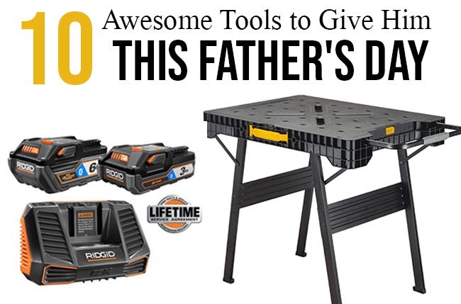 Home Depot - tools for the father