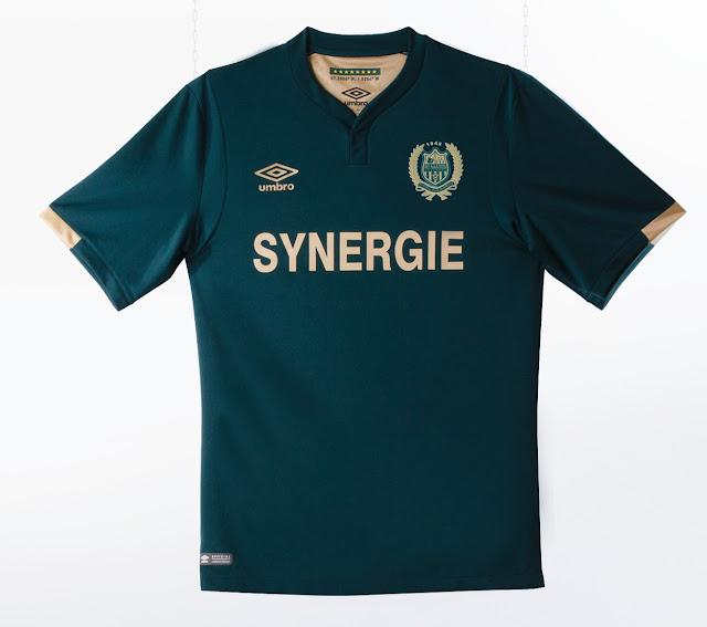 Umbro dévoile le maillot extérieur 2016-2017 du FC Nantes