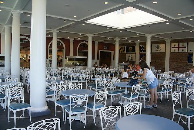 Detalhes do restaurante Liberty Inn na Disney em Orlando