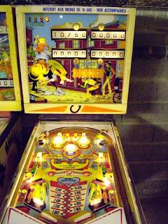 Flipper Mécanique Bronco de Gottlieb 1977