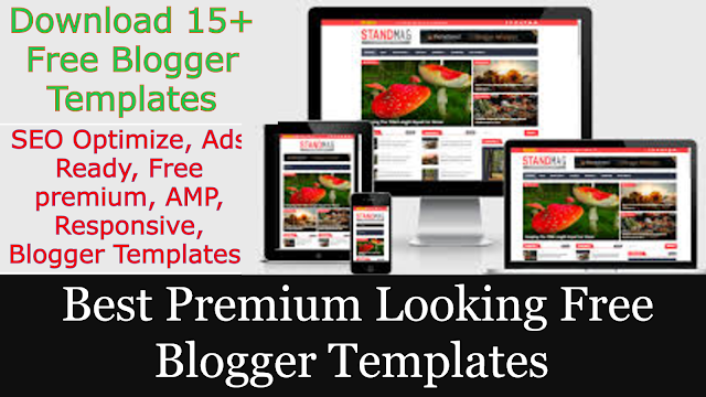 Best Premium Looking Free Blogger Templates