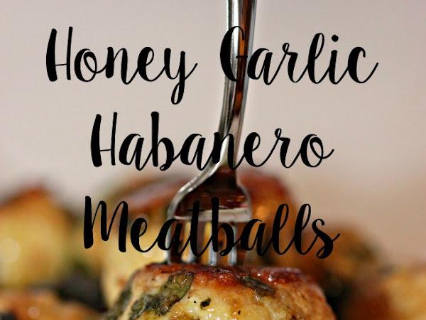 Slow Cooker Recipe: Honey Garlic Habanero Meatballs