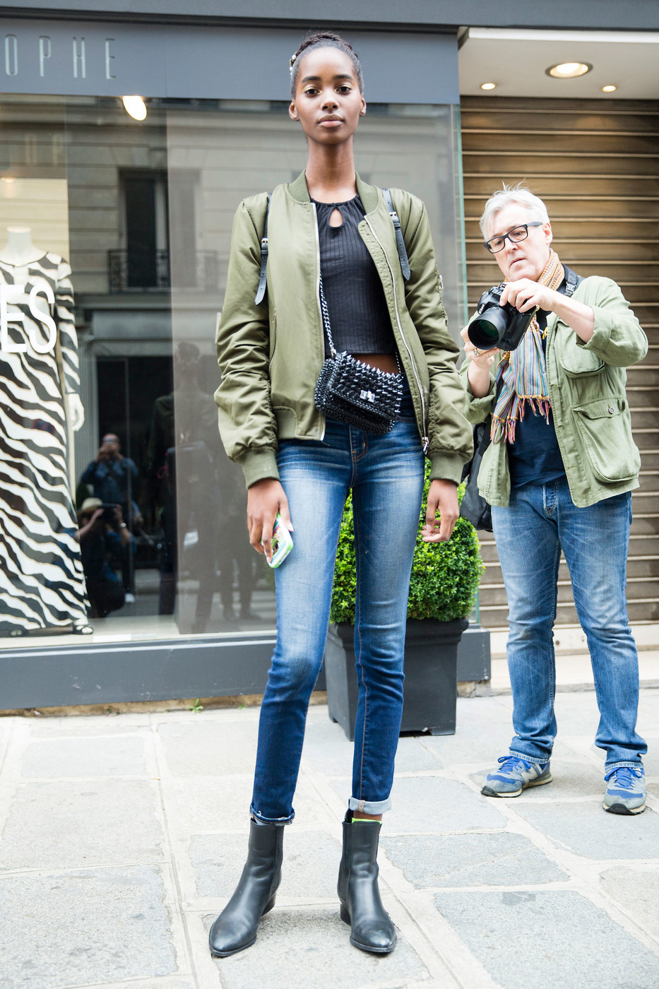 Street Style: Tami Wlliams at Couture Fashion Week A/W 2016