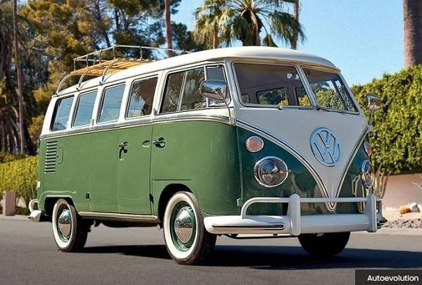 Modifikasi Volkswagen Kombi Tenaga Listrik
