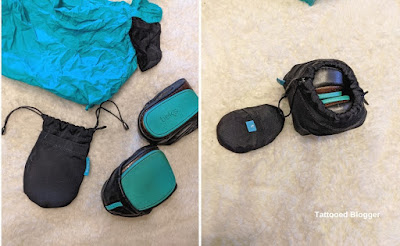 How to fold and store tieks shoes
