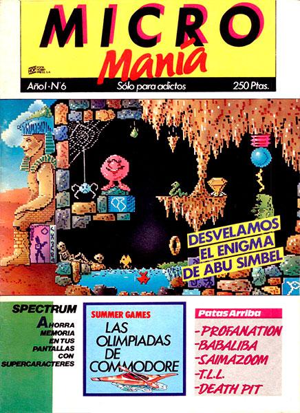 Revista Micromanía Número 6