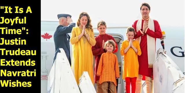 Justin Trudeau Navratri Wishes