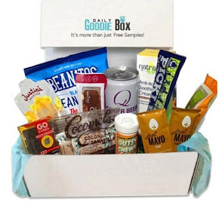 Image: Goodie Box - Sign up and they will send you a box of free goodies and all you do is let them know what you think