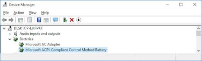 Perbarui atau Instal Ulang Driver Baterai