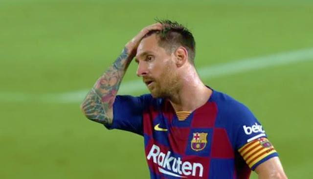 Messi se va de Barcelona confirmado burofax de Leonel Messi