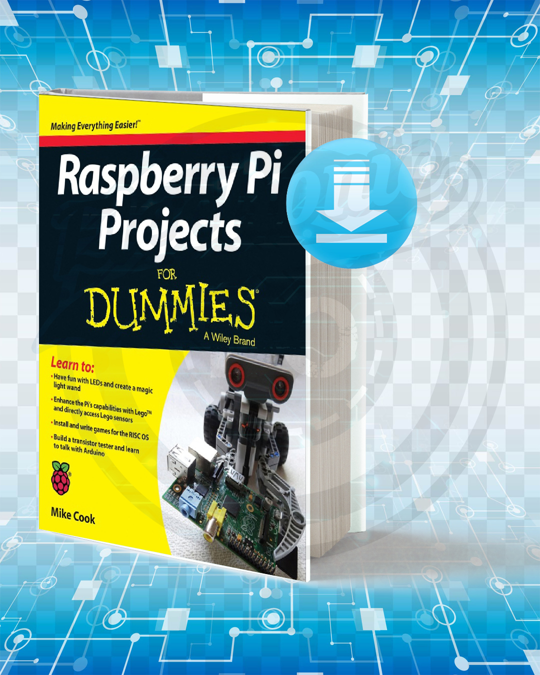 Free Book Raspberry Pi Projects For Dummies pdf.