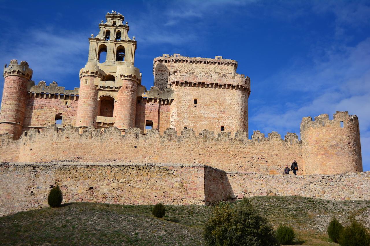vue d'ensemble chateau Turegano
