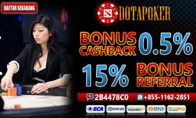 DotaPoker Situs Poker, BandarQ, dan Adu Qiu Qiu online