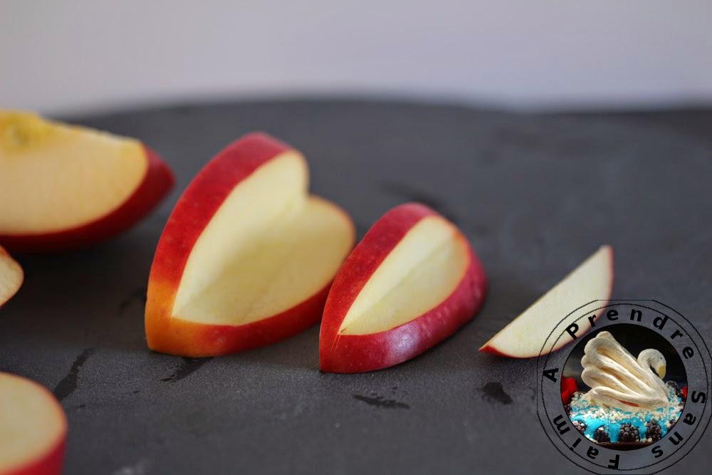 Comment faire un oiseau avec un fruit? (pas à pas en photo)