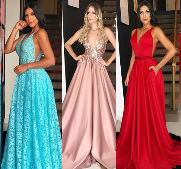 10 vestidos de festa  longos para madrinhas de casamento
