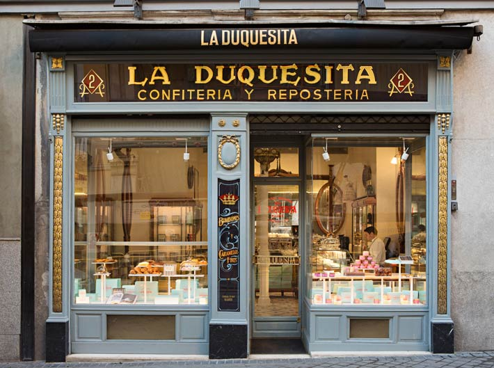 duquesita cafeteria madrid coffee cafe tea pasteleria patisserie dulces