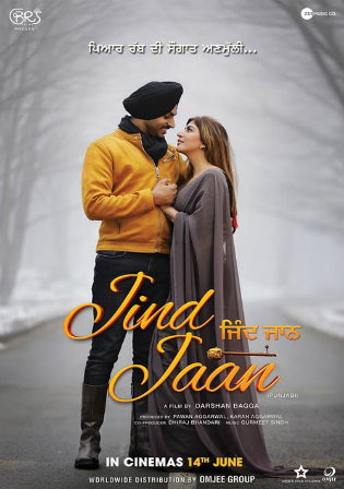 Jind Jaan 2019 WEB-DL 300Mb Punjabi Movie Download 480p Watch Online Free bolly4u