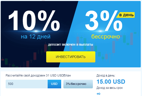 Тарифные планы Quickpay
