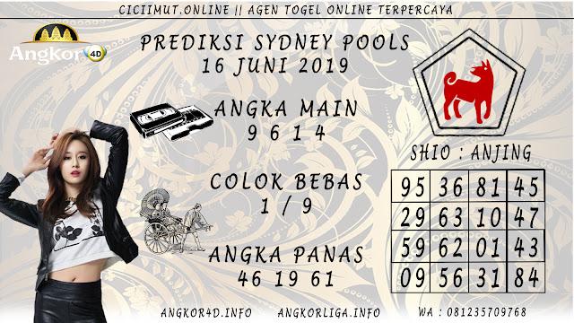 PREDIKSI SYDNEY POOLS 16 JUNI 2019