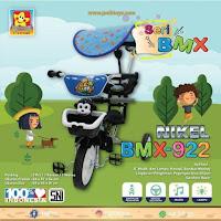 pmb 922 nikel bmx sepeda roda tiga