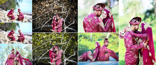 Pakej Fotografi Perkahwinan Design Album