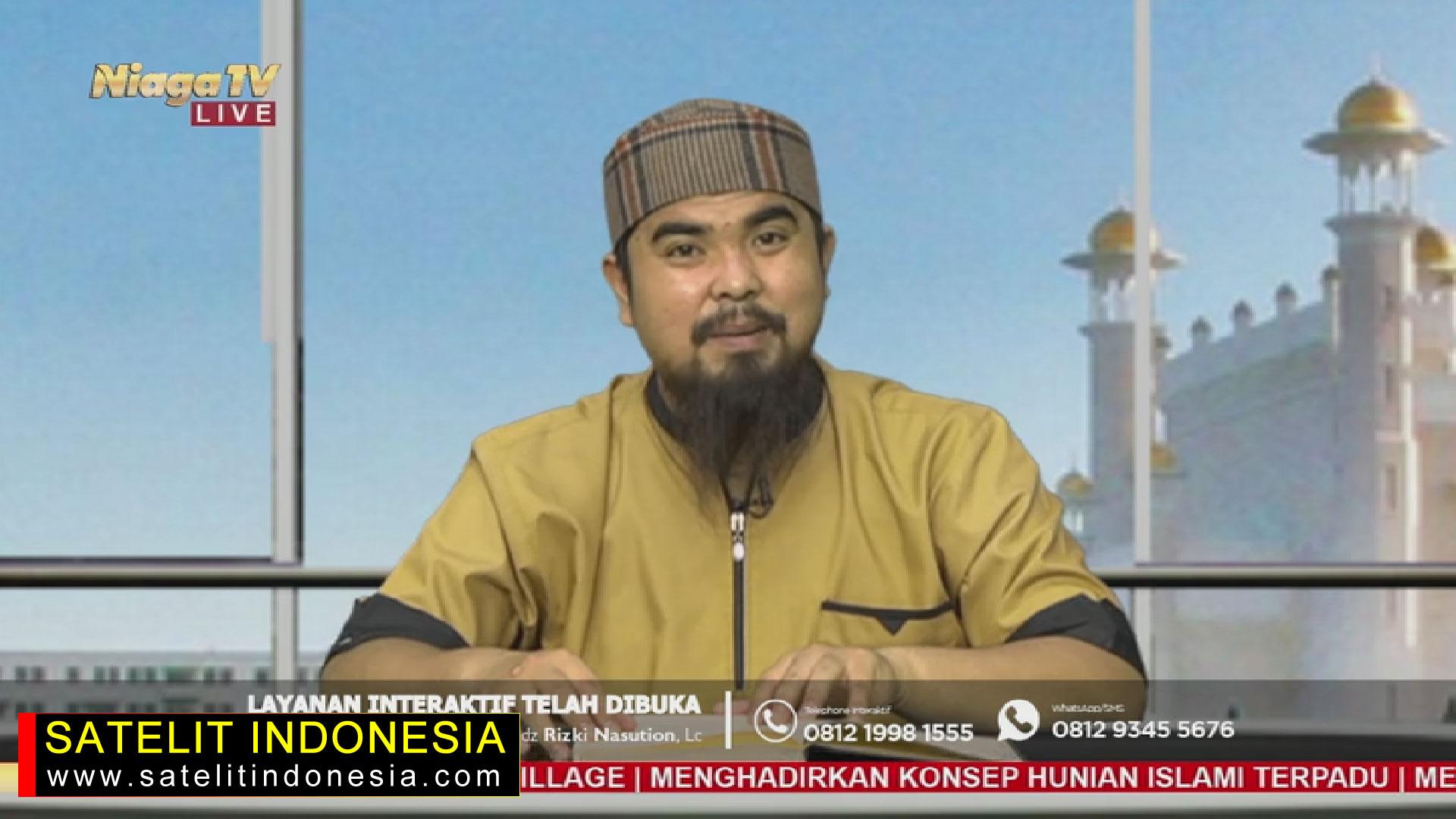 Frekuensi siaran Niaga TV di satelit Telkom 4 Terbaru