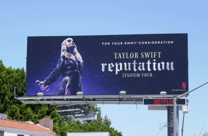 Taylor Swift Reputation Tour Emmy FYC billboard
