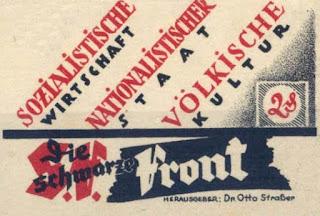 Otto Strasser, nazi, nsdap, black front,