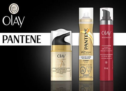 Bzzagent Olay & Pantene Product Packs