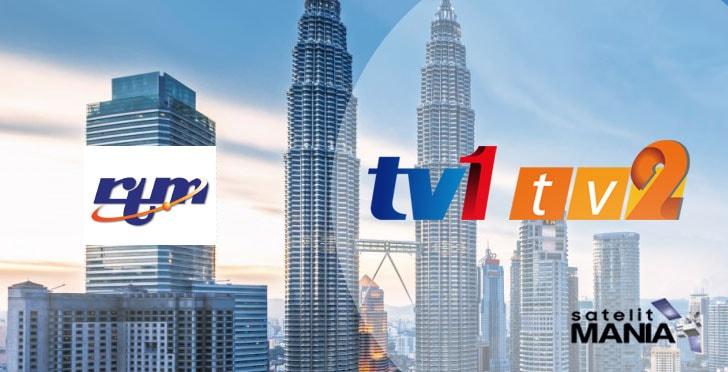 Frekuensi Channel TV1 dan TV2 Malaysia (RTM)