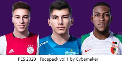 PES 2020 Facepack V1 by Cybermaker